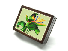 Bird Of Paradise Tile Box