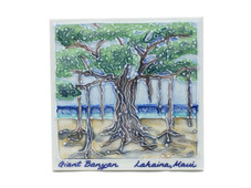 Ceramic Tile - Mauis' Giant Banyan