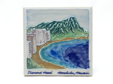 Ceramic Tile Diamond Head