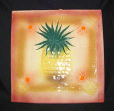Decorative Pineapple Tile Pink