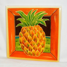 Hawaiian Art Tile Pineapple