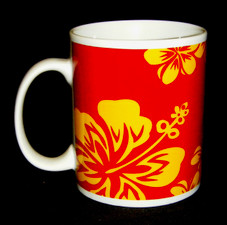 HAWAIIAN HIBISCUS COFFEE MUG (10oz)