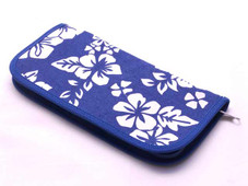 Hawaiian Blue Hibiscus Document Holder