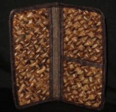 Hawaiian Native Fiber Bacbac Palm Document Holder