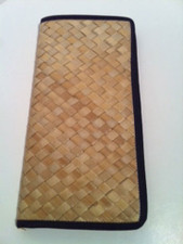 Hawaiian Native Fiber Lauhala Document Holder