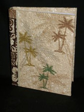 Hawaiian PHOTO ALBUM - (COCONUT PALM)  NIU