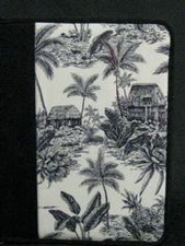 Hawaiian Toile Portfolio-Black