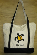 Hawaiian TOTE-Canvas  - Honu