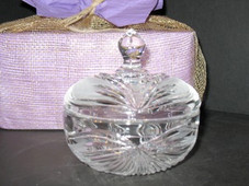 Orchid Crystal candy Dish