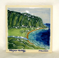 Ceramic Tile - Big Island - Waipio Valley