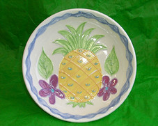 Ceramic Pineapple memory Bowl