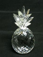 Hawaiian Crystal Pineapple with crystal leaves