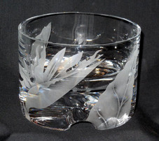 Crystal Bird Of Paradise Bowl
