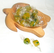 Aloha Pineapple Candy Honu Tray