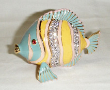 Jeweled Tropical Fish Box