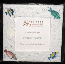 Hawaiian Reef Fish Magnet Frame