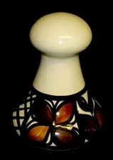 Hawaiian Tapa - Little Ceramic poi pounder
