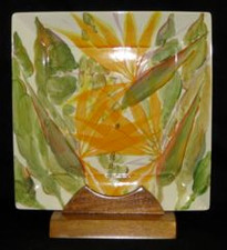 Hawaiian Bird Of Paradise Square Plate