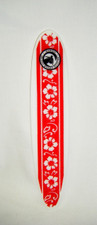 Hawaiian Longboard Replica Red Hibiscus