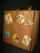 Reusable shopping tote - Hawaiiana