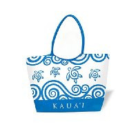 Kaua'i Resort Tote Blue Honu
