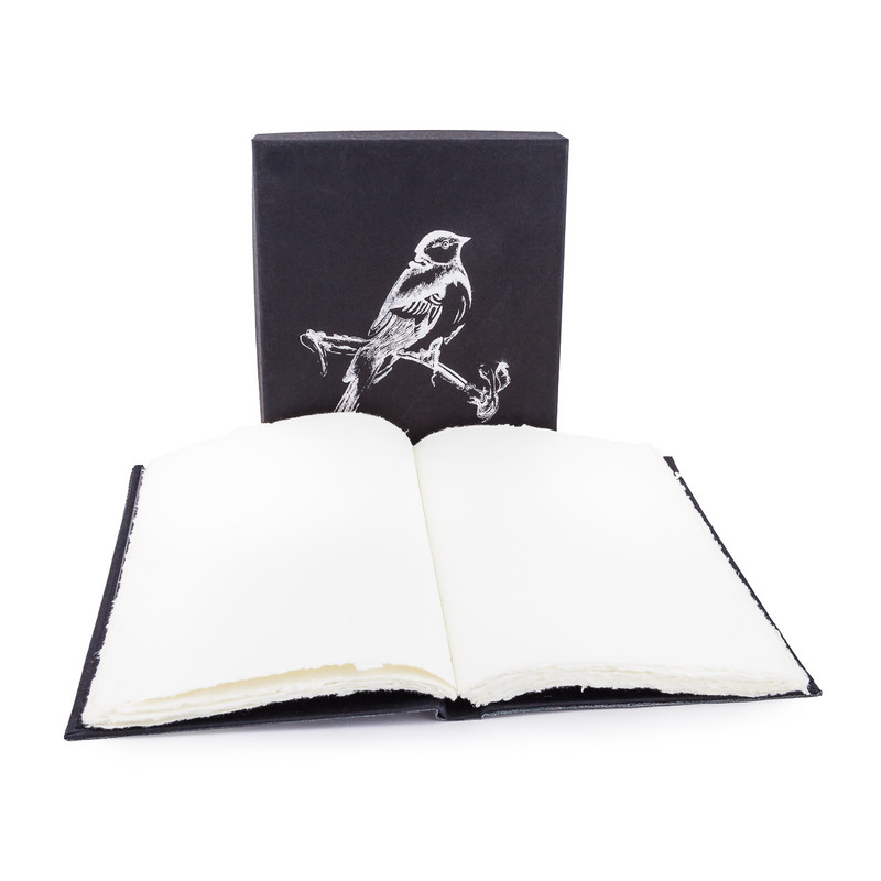 Boxed Journal  Bird Design