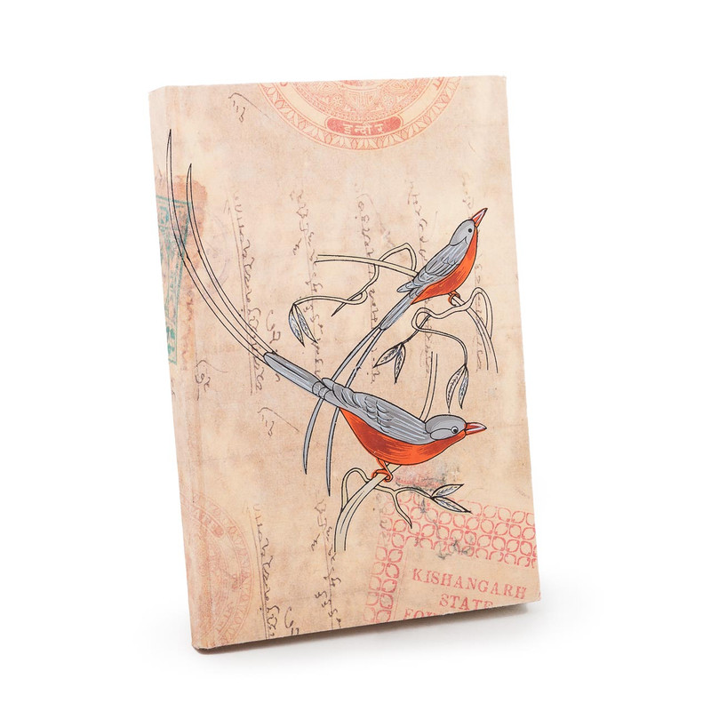 Notebook Journal Bird Design