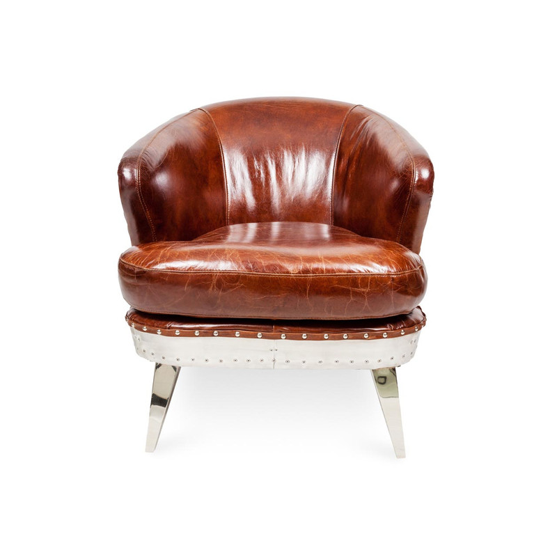 Aviator Leather Armchair