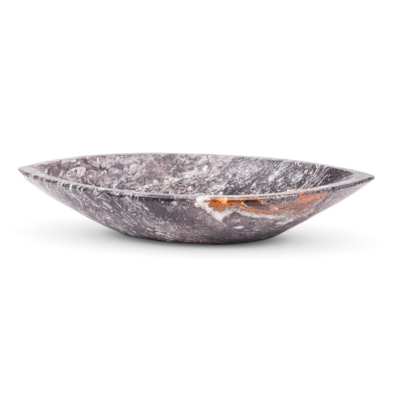 Fossil Marble Eye Bowl