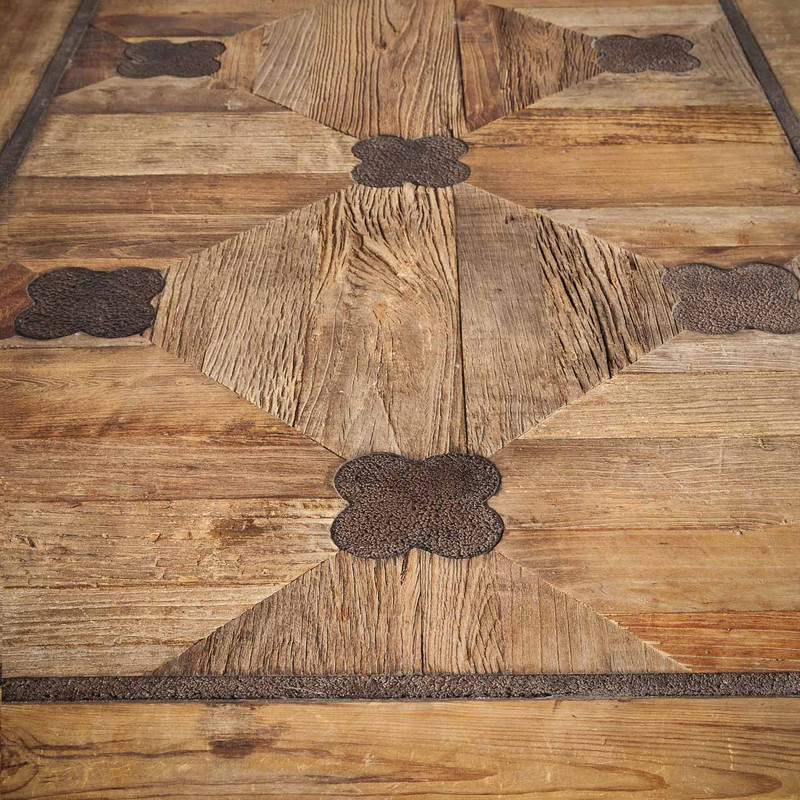Parquetry Pattern on La French Table Top