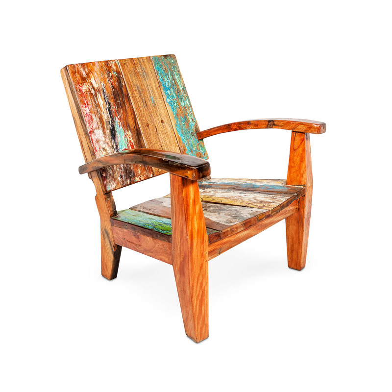 deck chair teak boat timber
