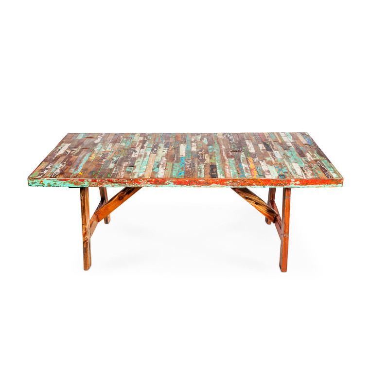 Boat Timber Finger Table Top