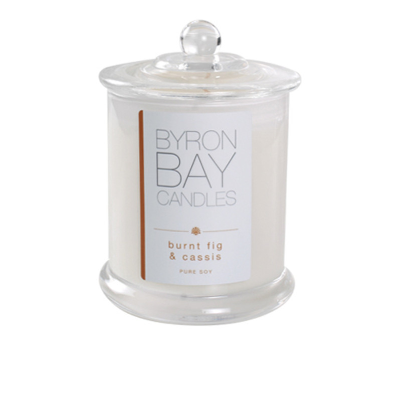 Byron Bay Candle Burnt Fig  & Cassis