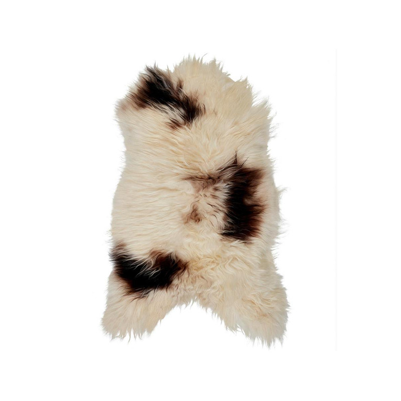 Icelandic Sheepskin Brown Spot
