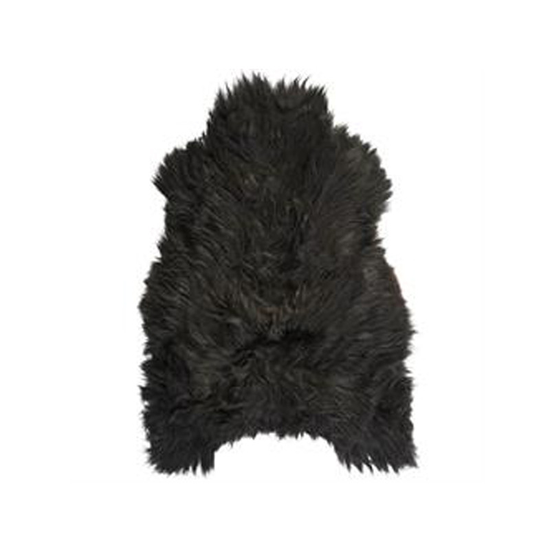 Icelandic Sheepskin Black Brown