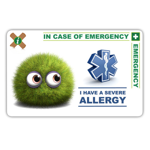 ALLERGY Child ICEcard Front
