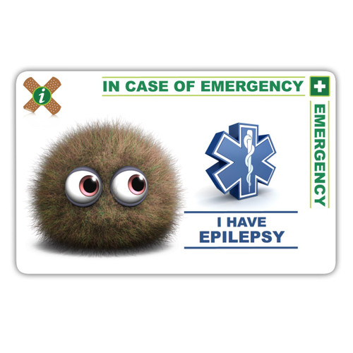 EPILEPSY CHILD  ICEcard Front