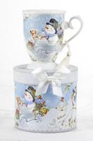 Mug, Snowman  w/ gift box