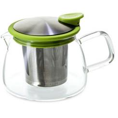 Teapot, Glass Bell 14oz (Lime)