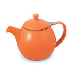 Teapot, Curve 24oz. (Carrot)
