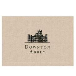 """Downton Abbey, Placemat """"Downton Castle"""""""