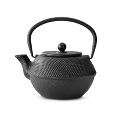 Cast Iron Teapot, 41 FL.OZ.  BLACK JANG
