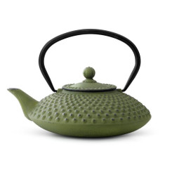 Cast Iron Teapot, 42 FL.OZ. GREEN XILIN