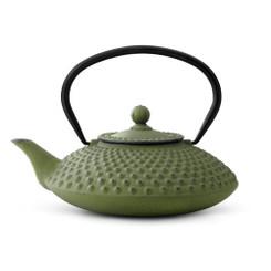 Cast Iron Teapot, 42 FL.OZ. GREEN XILIN