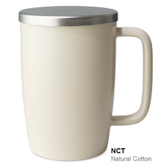 Mug, Infuser Dew 18 oz. Natural Cotton