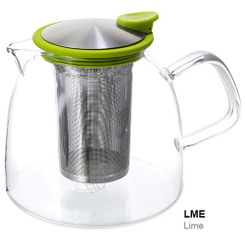 Teapot, Glass Bell 43oz (Lime)