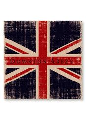 Wall Art, Downton Abbey Union Jack