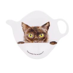 Teabag holder, Felines