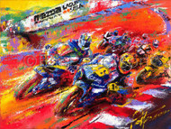 """They're Back"" Moto GP 2005 - Limited Edition Print"