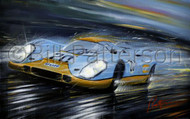 Gulf 917 at Le Mans 1971 - Limited Edition Print